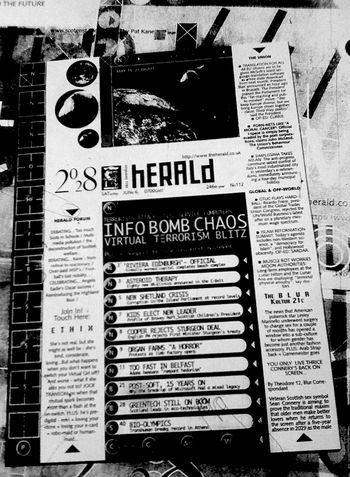 The herald slate, at scale