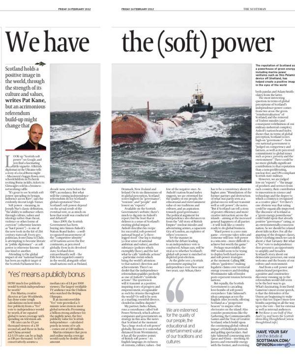 soft power nation branding and scottish independence scotsman soft power nation branding and scottish independence scotsman essay thoughtland